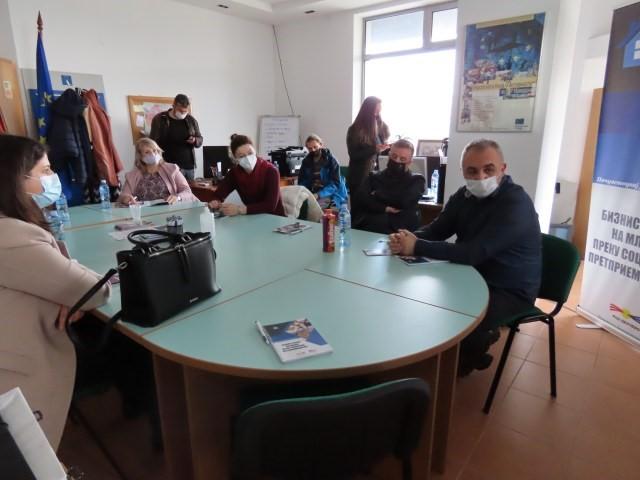 Прв координативен состанок за формирање на Младински Хаб